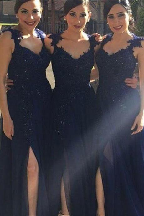Navy Bridesmaid Dresses on Luulla